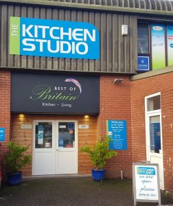 The Kitchen Studio Of Devons showroom in Exmouth