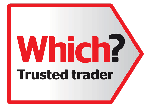 Which Trusted Trader logo Badge